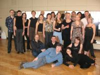 «The Intensive courses for teachers of Argentine tango» Course of Elvira Malishevskaya. Moscow, March 2009.